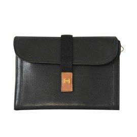 Hermès-Pochettes-Noir