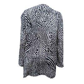 Yves Saint Laurent-léopard-Noir,Blanc,Beige