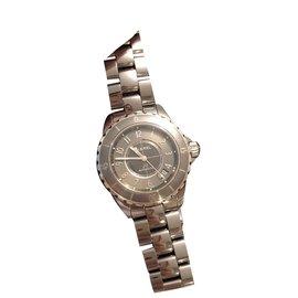 Chanel-Chanel J watch12-Grey