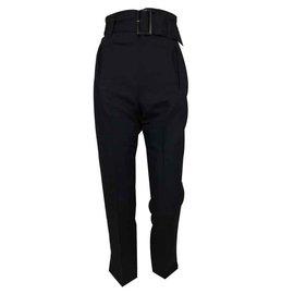 Comptoir Des Cotonniers-Pantalon droit comptoir des cotonniers-Noir