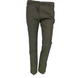 Burberry-Trousers 3/4 BURBERRY-Khaki