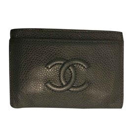 Chanel-Wallets-Dark blue