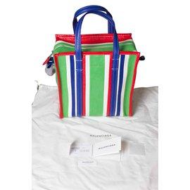 Balenciaga-Bazaar bag-Green