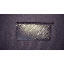 Louis Vuitton-Zippy-Noir,Rose