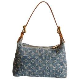 Louis Vuitton-Baggy Denim-Bleu