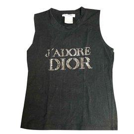 Dior-Débardeur DIOR 42-Noir