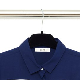 Céline-navy color block FR38/40-Navy blue