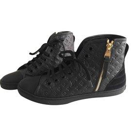 Louis Vuitton-Punchy sneaker boot-Noir