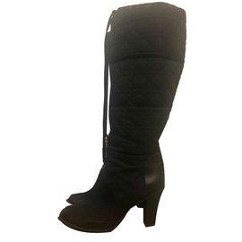 Dior-Bottes de neige-Noir