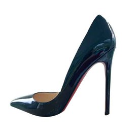 Christian Louboutin-PIGALLE 120 MM PATENT CALF CHRISTIAN LOUBOUTIN-Noir