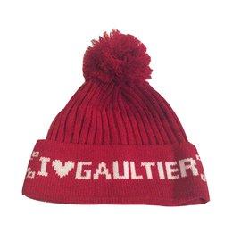 Jean Paul Gaultier-SUPER CHAPEAU DE CHAPEAU JEAN PAUL GAUTIER-Blanc,Rouge