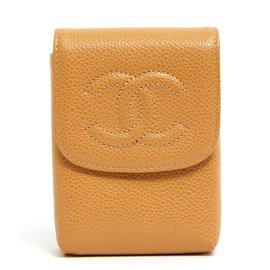 Chanel-BEIGE CAVIAR NEW-Beige