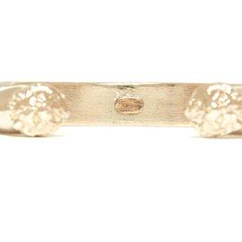 Chanel-LION CUFF SILVER-Silvery