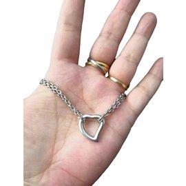Yves Saint Laurent-Superbe collier en argent Yves Saint Laurent-Argenté