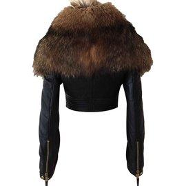 Dsquared2-Manteaux, Vêtements d'extérieur-Noir