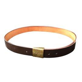 Louis Vuitton-Beautiful Louis Vuitton belt-Dark brown