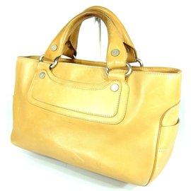 Céline-boogie bag-Beige,Yellow