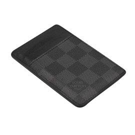 Louis Vuitton-card holder-Dark grey
