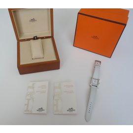 Hermès-Hermes Heure H watch - new collection-White