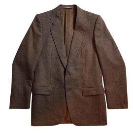 Lanvin-Vestes-Marron,Multicolore