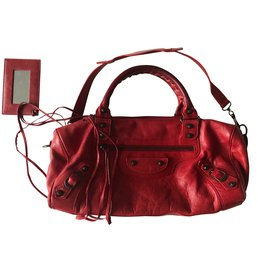 Balenciaga-Twiggy-Dark red