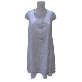 Chloé-Dresses-White,Cream,Eggshell