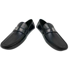 82fedbb7788 Louis Vuitton-Louis Vuitton loafers RaceTrack model car shoe black