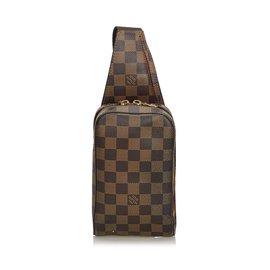 Louis Vuitton-Damier Ebene Geronimos-Marron