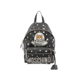 Moschino-Sac à dos Moschino neuf-Noir