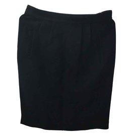 Balenciaga-Skirt-Black