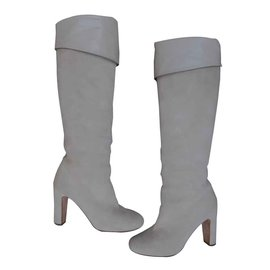 Hermès-Boots-Cream