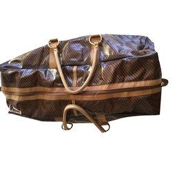 Autre Marque-Travel bag-Dark brown