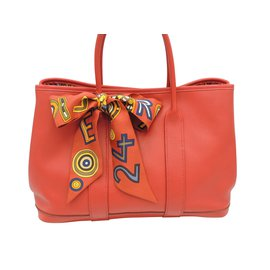 Hermès-HERMES GARDEN PARTY LIMITED EDITION-Red