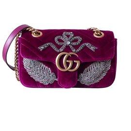583f0e158c5e Gucci-Gucci MARMONT EDITION LIMITEE CRISTAL SWAROVSKI-Violet ...