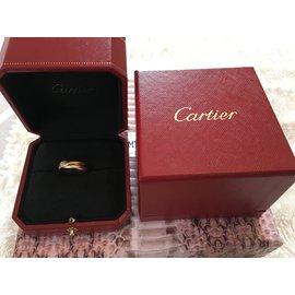 Cartier-Trinity-Rose,Gris,Jaune