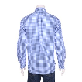Ralph Lauren-chemises-Blanc,Bleu