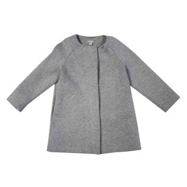 Cos-Girl Coats outerwear-Grey