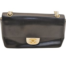 Chanel-Chanel Timeless Collection Vintage-Noir