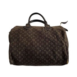 Louis Vuitton-mini linen from lv-Brown