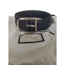 Gucci-CEINTURE GUCCI UNISEXE TAILLE 95-Bleu