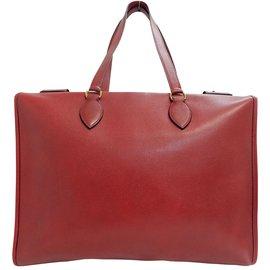 Hermès-Hermès Kaba-Red