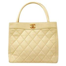 Chanel-Sac à main Chanel Vintage-Jaune