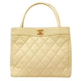 Chanel-Chanel Vintage Handbag-Yellow