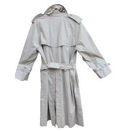 Burberry-Manteaux pour hommes-Beige