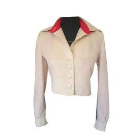 Jc De Castelbajac-Short jacket-Eggshell