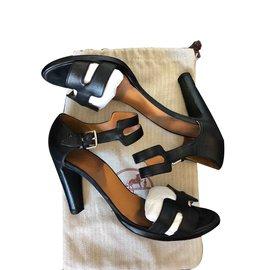 Hermès-Heels-Black