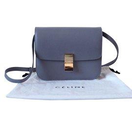 Céline-Classic Box medium-Grey
