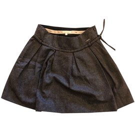 Chloé-Dark grey skirt-Dark grey