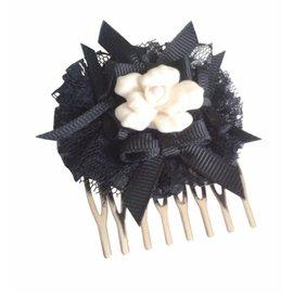 Dolce & Gabbana-Accessoires pour cheveux-Noir