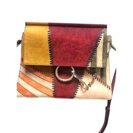 Chloé-Faye patchwork-Multicolore